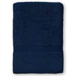 Marine Handdoek met Naam en Geborduurd Figuurtje