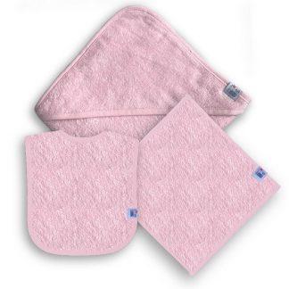 Roze Kraampakket met Naam en Geborduurd Figuurtje